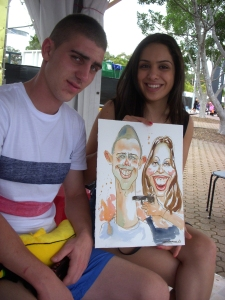 021_Caricature_EasterShow 2013