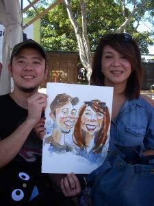 023_Caricature_EasterShow 2013