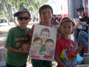 002_Caricature_EasterShow 2013