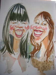 008_Caricature_EasterShow 2013