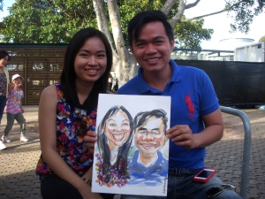 015_Caricature_EasterShow 2013