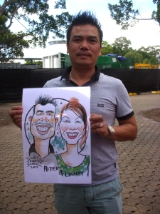 019_Caricature_EasterShow 2013